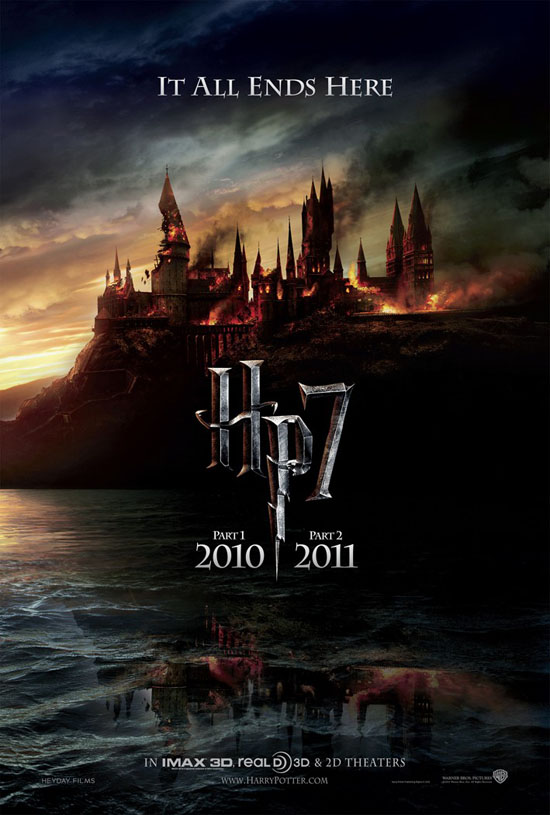 harry potter 7 poster. Harry Potter and the Deathly