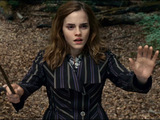 Emma Watson as Hermione Granger in Harry Potter And The Deathly Hallows