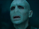 Ralph Fiennes as Lord Voldermort in Harry Potter And The Deathly Hallows