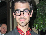 Joe Jonas outside The Dorchester hotel, London