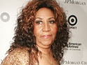 Aretha Franklin cancels two US gigs after breaking her ribs.
