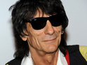 Ronnie Wood reveals that his two-year relationship has come to an end.
