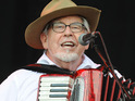 Rolf Harris reveals that Kate Bush has recorded her vocals on a traditional Irish song with him.