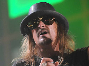Kid Rock performing live at the 2010 Isle of MTV Malta Special