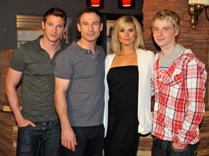 The Costello family from Hollyoaks