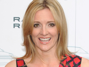 Gabby Logan at the Range Rover 40th anniversary party