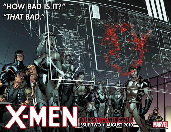 X-Men Curse of the Mutants