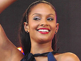 Alesha Dixon performs in Wigan