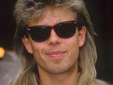 Pat Sharp with mullet