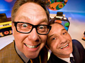 The comic pair will play versions of themselves in the flat-share comedy.