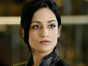 "Archie Panjabi admits that she was surprised that a recent scene on The Good Wife was so ""steamy""."