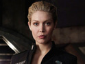Stargate Universe actress Alaina Huffman reveals that her character TJ is getting more mature.