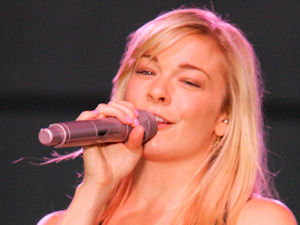 LeAnn Rimes performing live in concert during the Naperville Ribfest held in Illinois, America