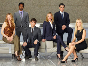 Covert Affairs cast shot