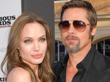 Angelia Jolie and Brad Pitt