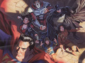 DC Comics unveils the cover to the first issue of its long-awaited JLA/The 99 miniseries.
