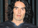 Russell Brand gets naked twice on the set of his new film Arthur.