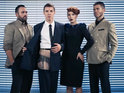 Ana Matronic records a track for the upcoming Mark Ronson produced Duran Duran LP.