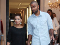 Eva Longoria and her husband Tony Parker may be considering adopting a baby from Haiti.