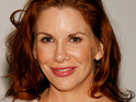Actress Melissa Gilbert suffers a broken back while on tour with a musical show.