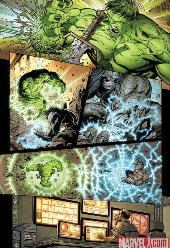 'World War Hulks' preview, Marvel Comics