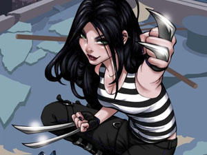 X-23, Cover