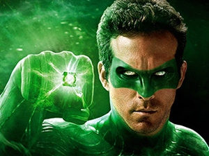 Green Lantern Entertainment Weekly cover