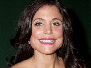 Real Housewife of New York City Bethenny Frankel promoting her book The Skinnygirl Dish at Barnes & Noble store in New York City