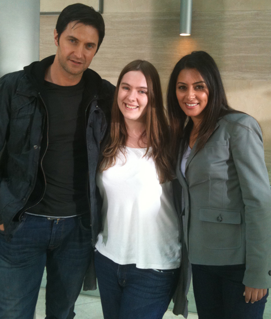 Richard Armitage, Catriona Wightman, Laila Rouass