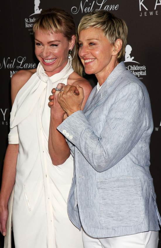 Showing Gallery For Portia And Ellen Wedding RingsEllen Degeneres And Portia De Rossi Wedding Ring