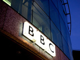 BBC sign at Television Centre
