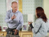 Max makes jibes about Rainie's drug-fuelled past and refuses to believe her claims she is now clean.