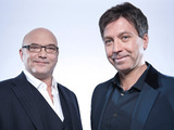 Gregg Wallace and John Torode from 'Celebrity MasterChef'