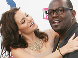 Kara DioGuardi and Randy Jackson