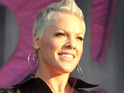 Pink confirms that she is pregnant with her first child with husband Carey Hart.