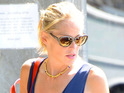 Sharon Stone is granted a restraining order against a man that broke into her Los Angeles home.