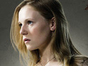 Emma Bell admits that she was terrified filming a gruesome scene for The Walking Dead.