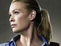 Laurie Holden admits that filming on The Walking Dead gave her bad dreams.