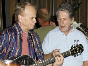 Al Jardine and Brian Wilson