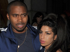 Amy Winehouse with Nas