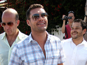 Ryan Seacrest in California