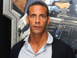 Rio Ferdinand at new Halo game launch
