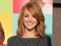 "Jayma Mays claims that her new relationship on Glee is a ""genuine"" romance."