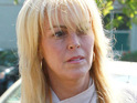 Dina Lohan is reportedly angered by the post-Super Bowl Glee episode.