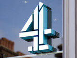 Channel 4 logo at Channel 4 Headquarters