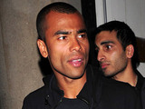 Ashley Cole leaving China White nightclub