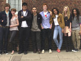 The cast of Skins series 5