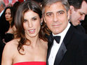 Elisabetta Canalis says George Clooney was as important to her as a father.