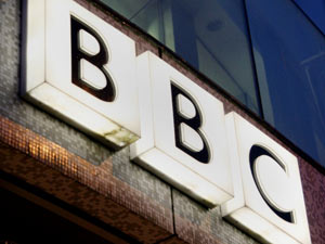 BBC logo at BBC Television Centre