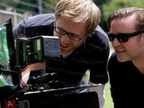 Stephen Merchant and Ricky Gervais directing